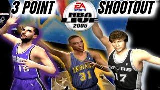 NBA Live 2005 PS2 3 Point Shootout 1