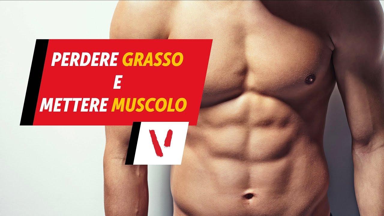 perdere grasso sul muscolo