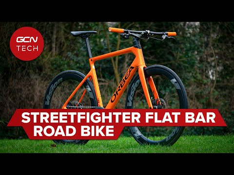 Hybrid Flat Bar Road Bike Conversion   Streetfighter Bike Check