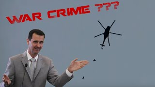 Unbiased truth about Barrel Bombs in Syria