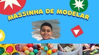 🔴 COMO FAZER MASSINHA DE MODELAR [PASSO A PASSO]