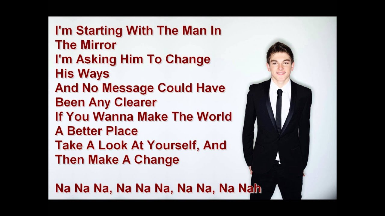Man In the Mirror Lyrics