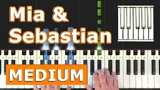 La La Land - Mia & Sebastian's Theme - Piano Tutorial Easy  - How To Play (Synthesia)