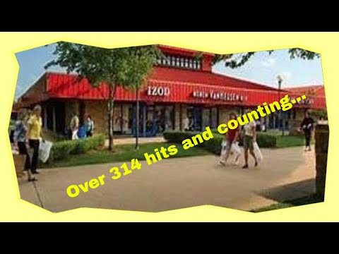 Branson's red roof mall today-Factory Merchants mall 2018