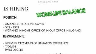 IMLaw LLC | WE ARE HIRING