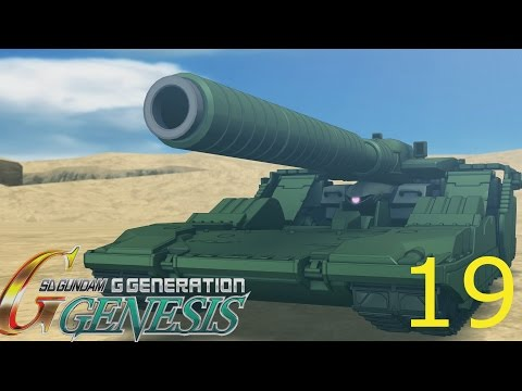 Let's Play SD Gundam G Generation Genesis (English) Episode 19  MS Igloo Part 2