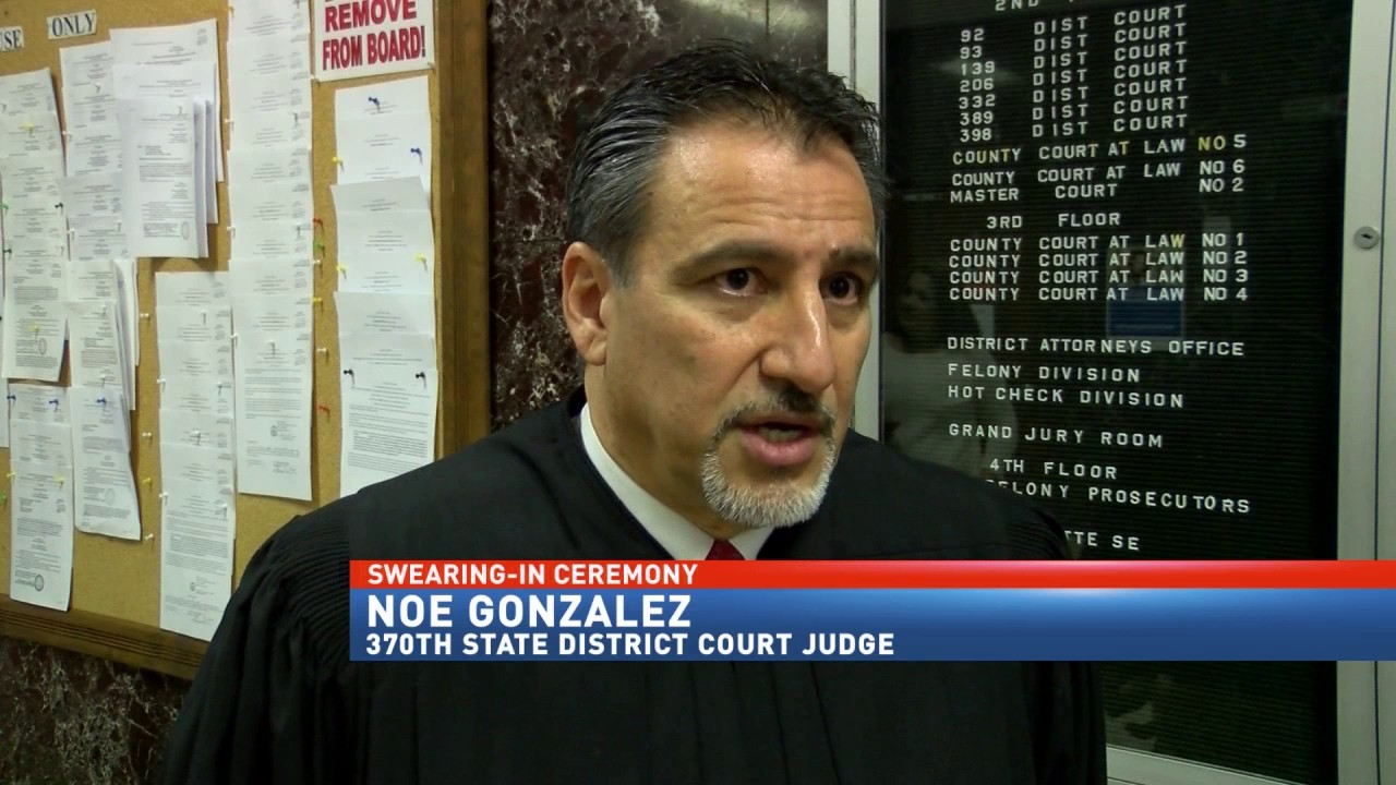 New State District Judge In Hidalgo County