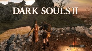 Dark Souls 2 PC. Walkthrough No Commentary. Part 1: Things Betwixt, Majula, Forest of Fallen Giants