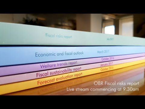OBR July 2019 Fiscal risks report press conference