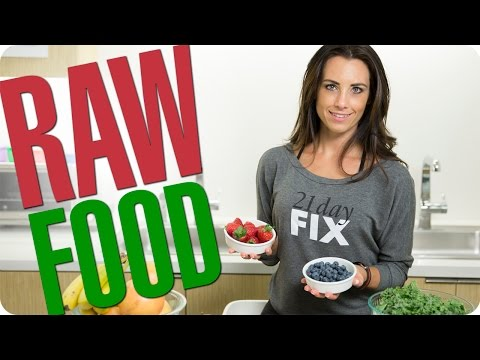 RAW FOOD! Quick & Easy Tips For Nutrition On The Go | Autumn Fitness