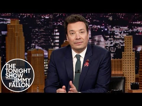 Jimmy Fallon pledges to march in student-led protest for gun control