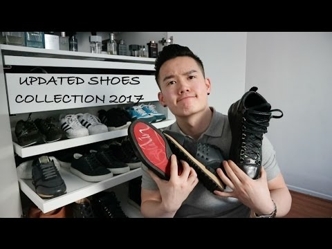 UPDATED SHOE COLLECTION 2017 | CHRISTIAN LOUBOUTIN, GUCCI, BALENCIAGA...| DANNY YU