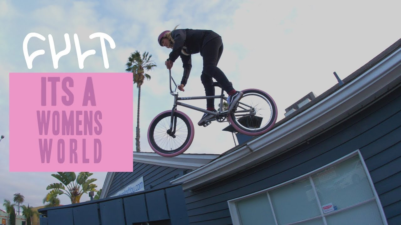 CULTCREW/ ITS A WOMENS WORLD/ ANGIE MARINO & PERRIS BENEGAS