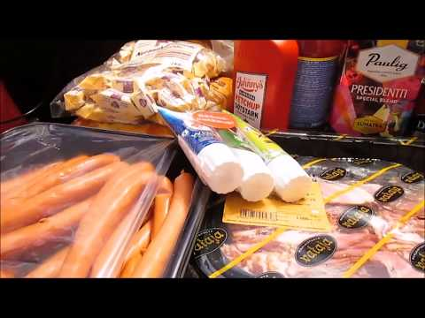 Продукты из Финляндии,  что и по какой цене мы покупаем, распаковка