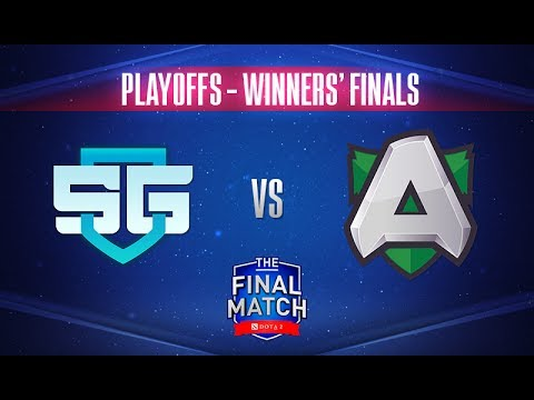 SG vs Alliance Game 1 - The Final Match 2017 Winners' Finals - @TobiWan @Fogged