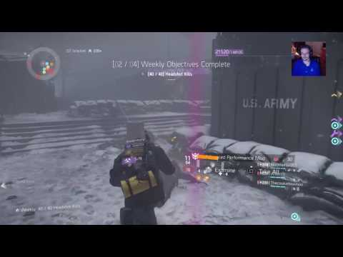 The Division - Helping Players Level Up in the Dark Zone! Big Party!