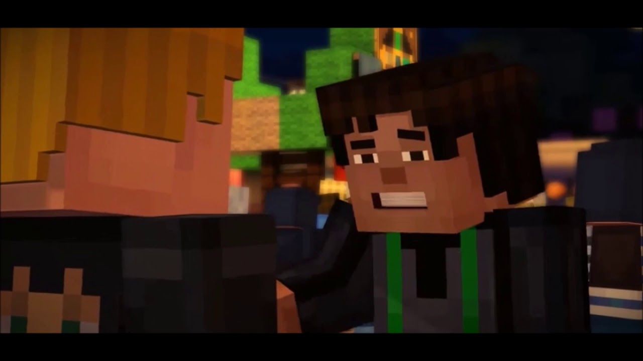 M Jesse X Lukas Im Not Gay Minecraft Story Mode Youtube