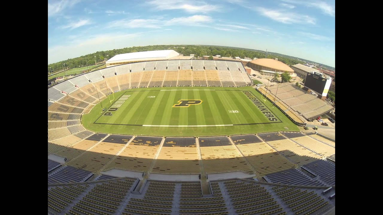 Ross-Ade Stadium Field Time-Lapse - YouTube