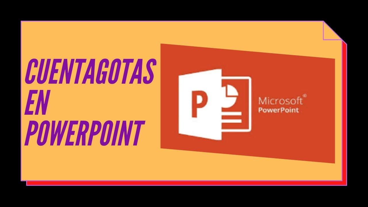 1 El cuentagotas para copiar y aplicar color en PowerPoint - YouTube