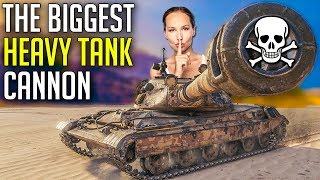 Massive Heavy Gun, The Biggest On Heavy Tanks! | World of Tanks 60TP Gameplay