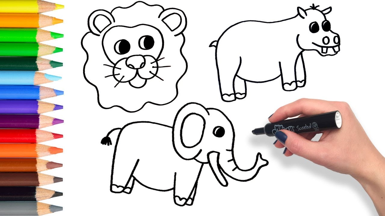 FREE! - Coloring Sheets to Support Teaching on Brown Bear, Brown Bear | 720x1280