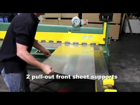 Sierra Victor Machinery: TIN KNOCKER TK 1014A Air Shear