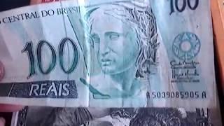 cedula rara de 100 reais iniciais aa vale ate 4 mil reais no colecionismo veja