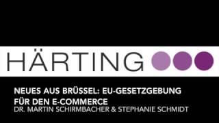 NEUES AUS BRÜSSEL:  EU-GESETZGEBUNG FÜR DEN E-COMMERCE - Webinar Aufzeichnung