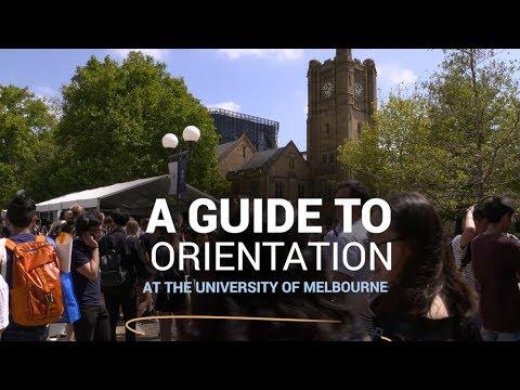 Unimelb Orientation 2019: Your Guide