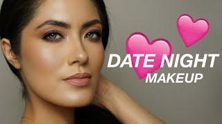 Dewy Skin & Soft Smoky Eyes Valentines Day Look | Melissa Alatorre