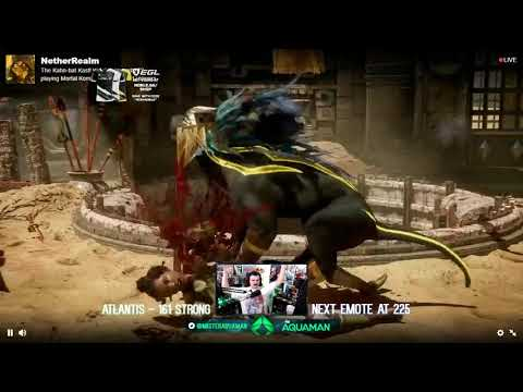 MrAquaman's Reaction To The Kotal Kahn Reveal!