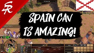 Spain's Cav is AMAZING! Age of Empires III