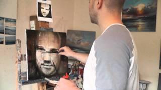 oil painting tutorial layered glazing self portrait