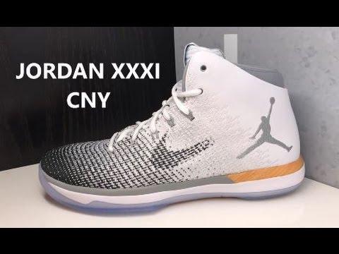 AIR JORDAN 31 CHINESE NEW YEAR XXXI SNEAKER - YouTube 816919d890c9