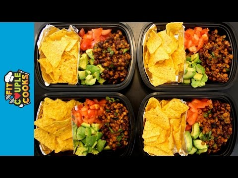 How To Meal Prep – Ep 28 – VEGAN MEAL PREP | NACHOS (4 Meals/$3Each)