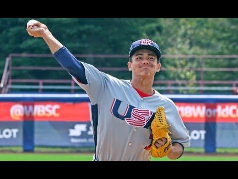 Highlights: USA V South Africa - WBSC U-18 Baseball World Cup 2017
