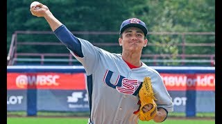 Highlights: USA v South Africa - WBSC U-18 Baseball World Cup 2017