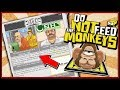 I THINK I FED THE MONKEYS... - Do Not Feed The Monkeys Gameplay EP 3