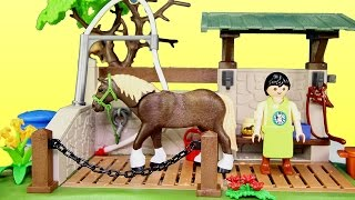 Playmobil Horse Animal Care Station Building Set Build Review