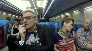 Showmatch 2014 - Benito Fernández sufrió mucho en El peor vuelo de tu vida