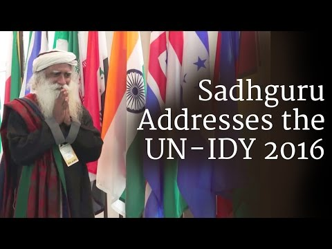 Sadhguru Addresses the UN - IDY 2016
