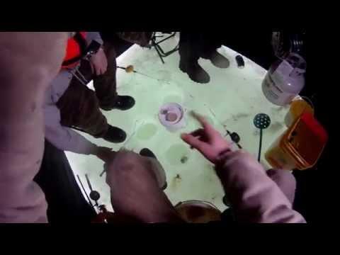 2015 Lake St. Clair Ice Fishing - GoPro HD