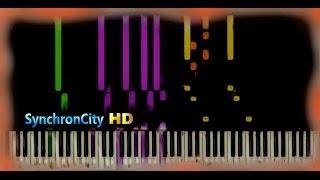 School of Velocity Etude Op. 299 No. 3 // Czerny [ Piano Lesson / Tutorial ] ( Synthesia )