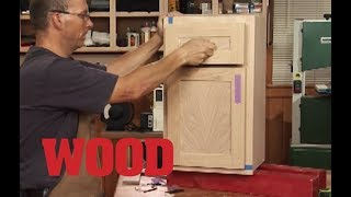 How To Make and Install Overlay Cabinet Doors - WOOD magazine