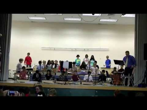 Findley Fourth Grade Music Performance April 16, 2015.