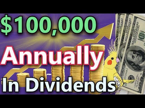 Earn $100,000 Per Year In Dividend Income - How Much Do You Need To Invest? 📈💰