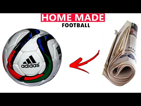 how to make football with paper  how to make football  how to make football at home  football making