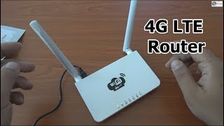 WiFi Router 4G LTE 300Mbps wireless router with speed test