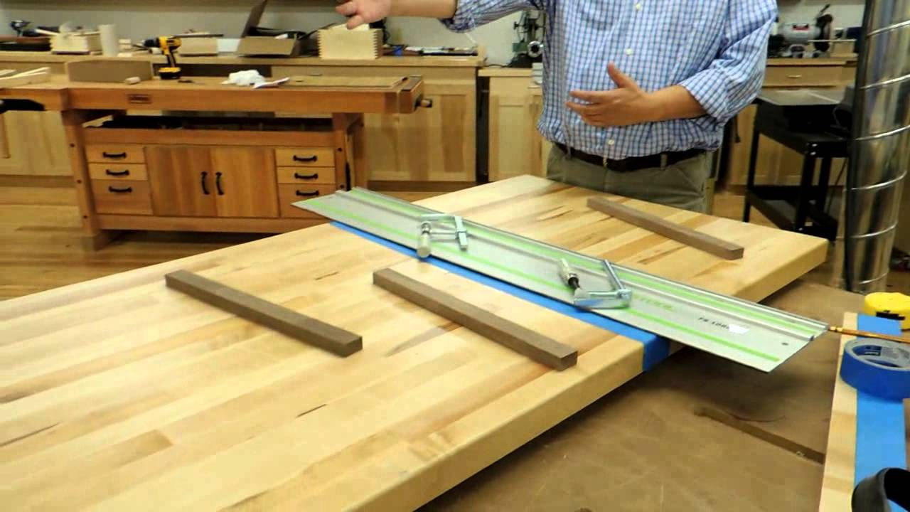 Maple Bench Countertops, Presented by Woodcraft - YouTube on Maple Countertops id=49943