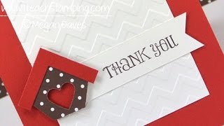 Need a Quick DIY Thank You Card Idea?